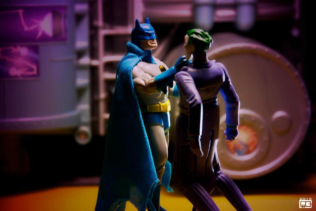 Batman vs joker by Fantitlan
