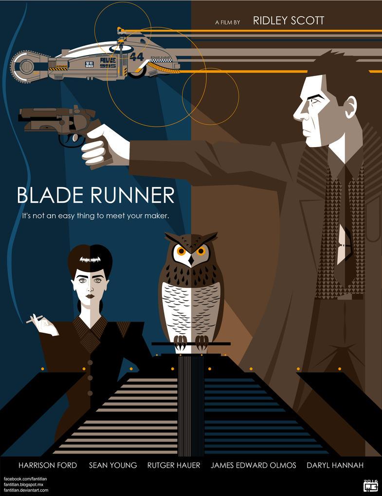 BLADE RUNNER (1982) by Fantitlan