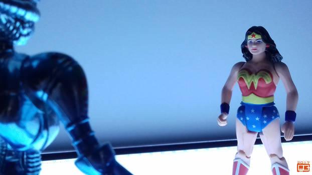 Diana vs Brainiac