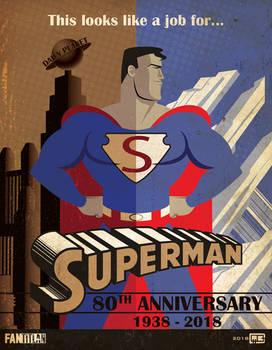 SUPERMAN 80TH ANNIVERSARY