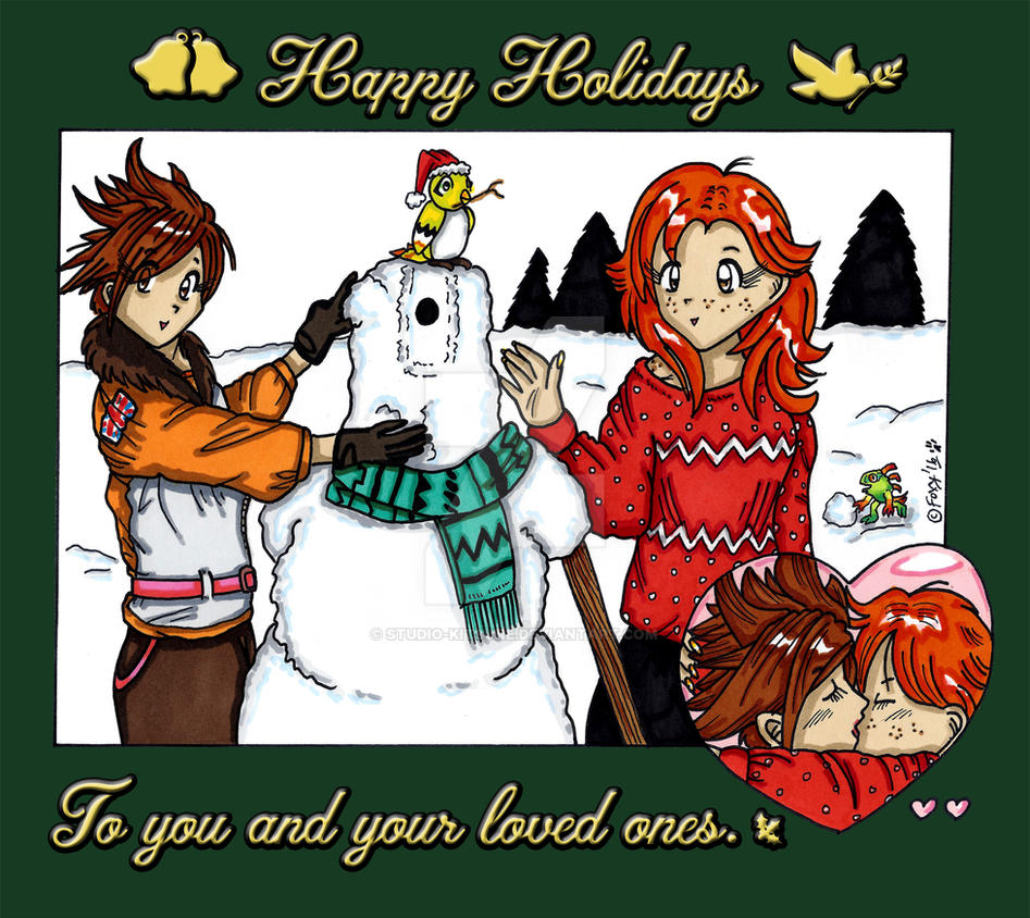 Overwatch Christmas.An Overwatch Christmas By Studio Kitsune On Deviantart
