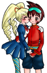 Geo and Luna :D