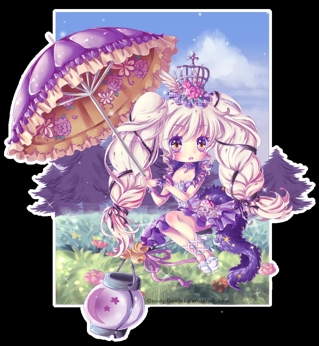Purple Princess by Candy-DanteL