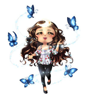 CM: Moon Butterfly