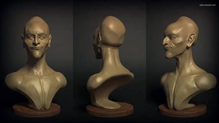 150414 sculptSketch head OmarPico