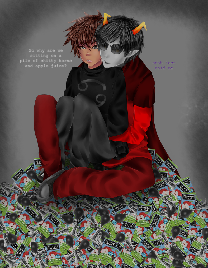 Karkat: Inquire on what the hell you're doing. by AlicantesRune