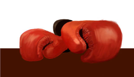 Boxing gloves by Maxpow