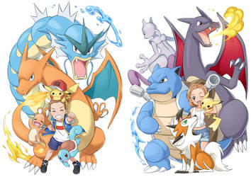 Pokemon Training siblings