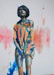 Sketch girl in jumper by Ardillas