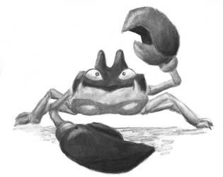Krabby by Adlaya