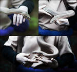 Orochimaru collage.hand and snake.