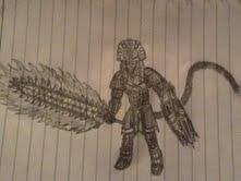 Derato (Warrior Form) by Bysthedragon
