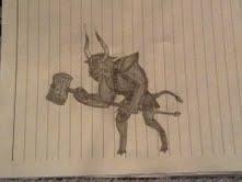 Minotaur by Bysthedragon