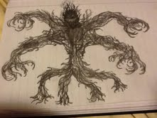 Spade (true form) by Bysthedragon