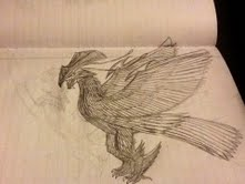 Iris the Rainbow Bird by Bysthedragon