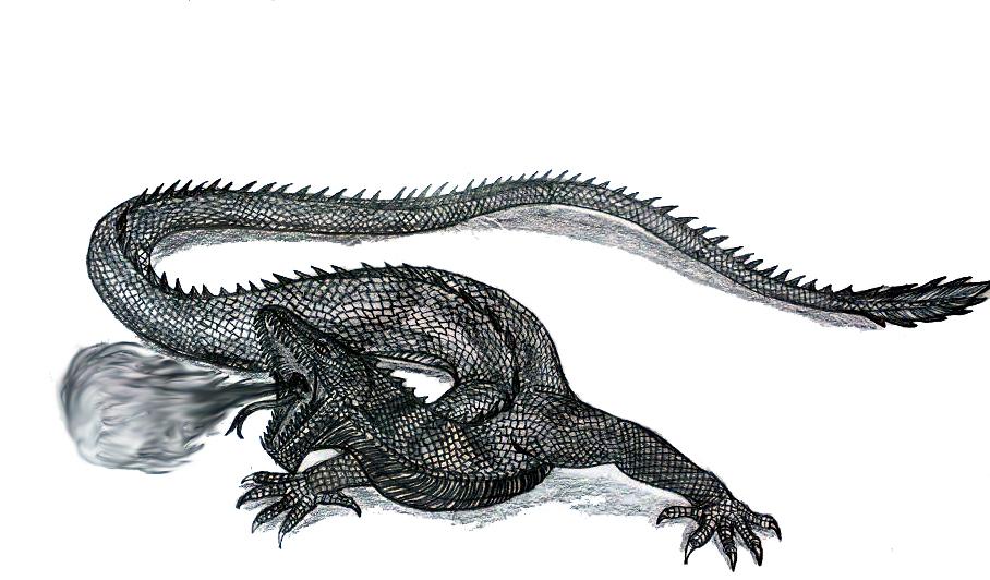Lindworm Dragon: Lindworm By Bysthedragon On DeviantArt