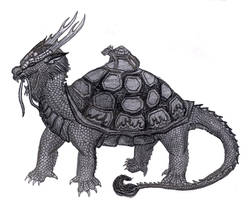 Chinese Turtle Dragon