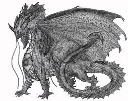 Atarau Dragon God by Bysthedragon