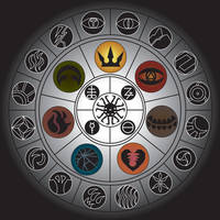 The Wheel of Zelophbog by Bysthedragon