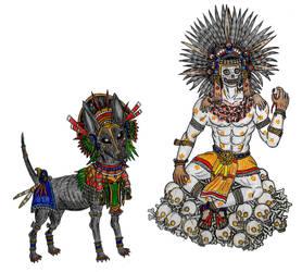 The Gods of Mictlan