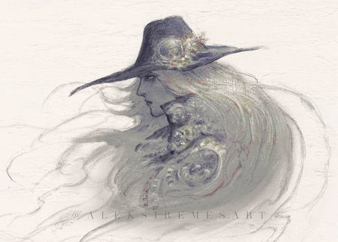 Vampire Hunter D Sketch