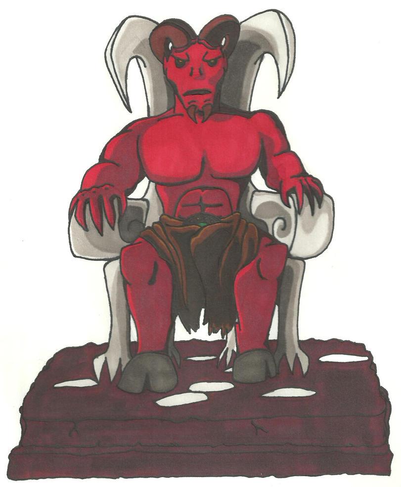 The Devil by FebuarysDeadStar