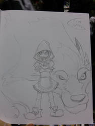 Magacon Fairy Quest Sketch