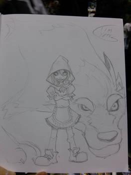 Magacon Fairy Quest Sketch