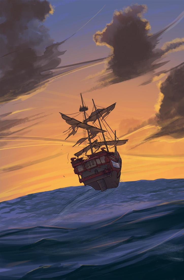 Sailing off into the sunset by TimYates