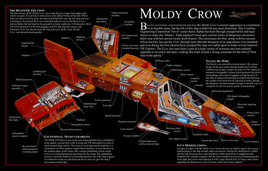 The Incredible Cross Sections Moldy Crow by MillenniumFalsehood