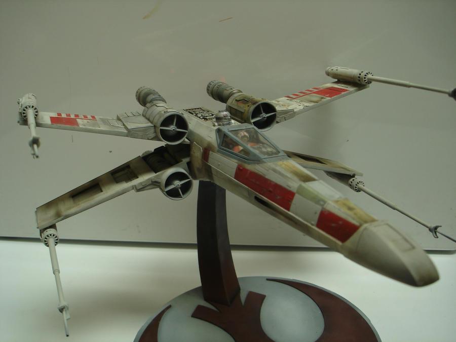 Pro-Shop X-wing Starfighter model by MillenniumFalsehood