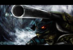 Mega Blastoise by GNDillustrations