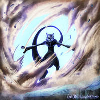 Mewtwo Strikes Back! by GNDillustrations