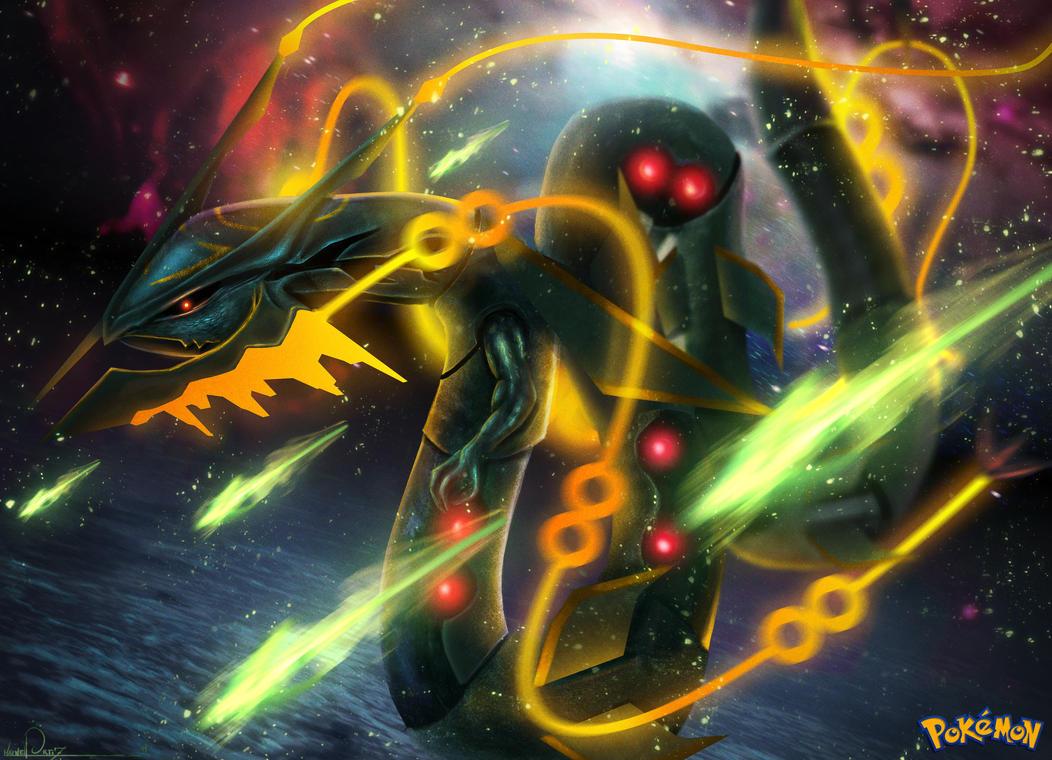 Mega Rayquaza by GNDillustrations