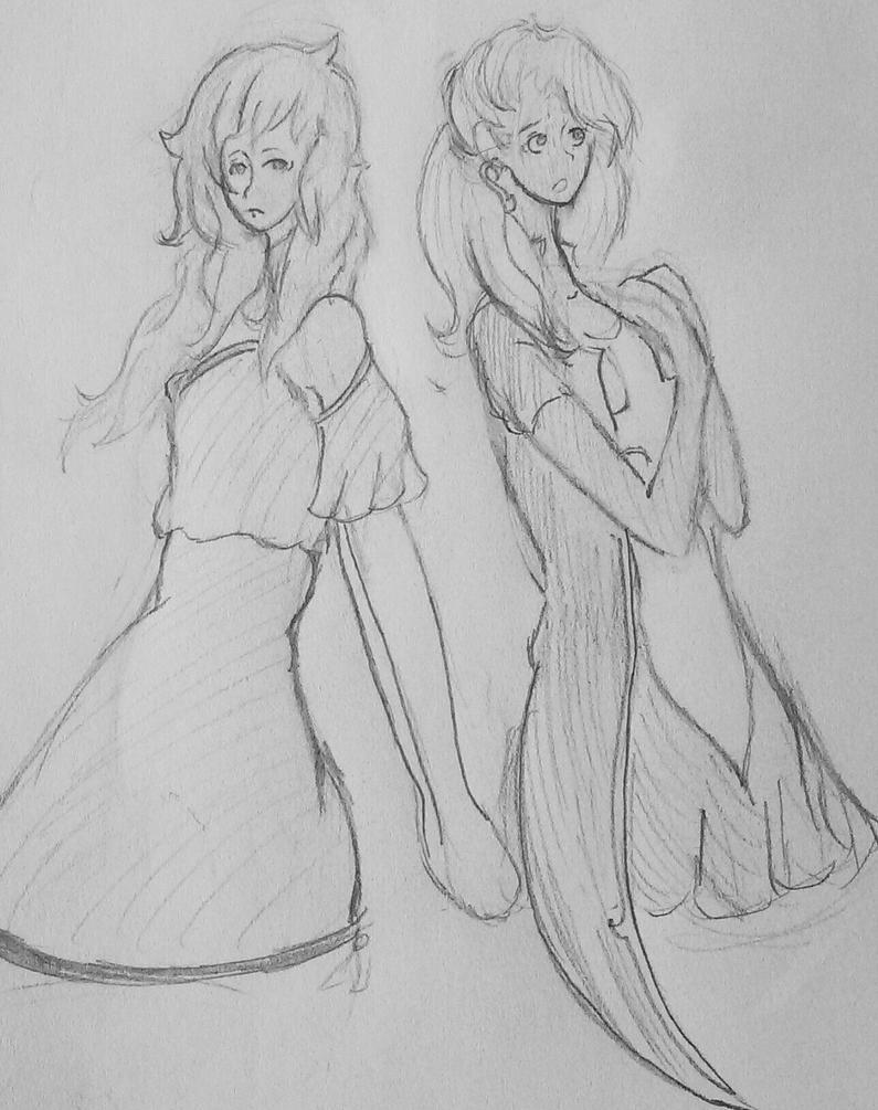 Gift: Legless Blu and Shinri Doodle  by xxxXZoey-Jewel16Xxxx