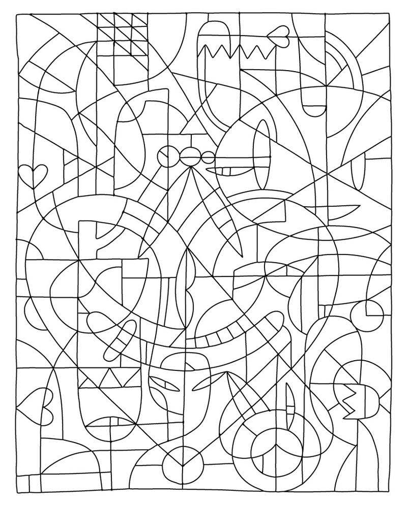 difficult printable coloring pages | color.by.numbers.template by betteo on DeviantArt