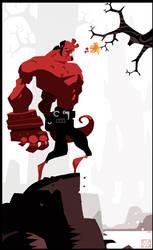 Hellboy FanArt by betteo
