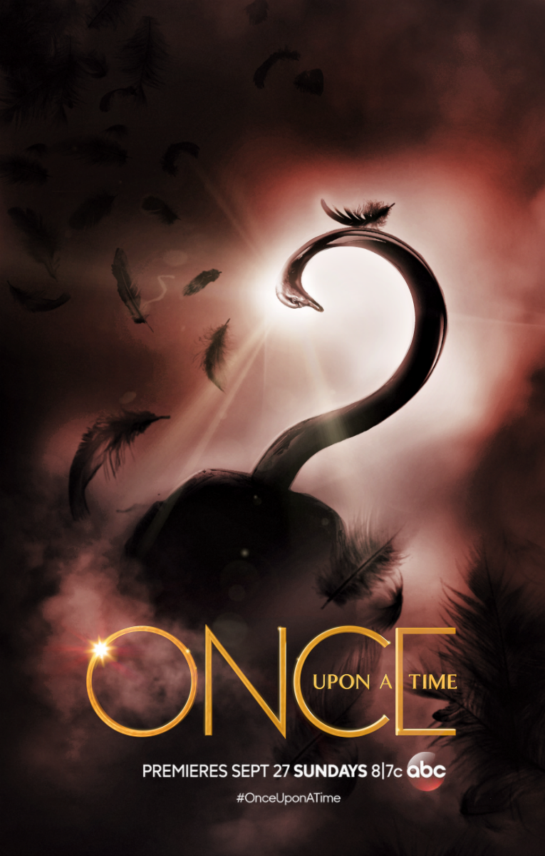 Once Upon A Time Season 5 Poster Captain Swan By Panchecco On