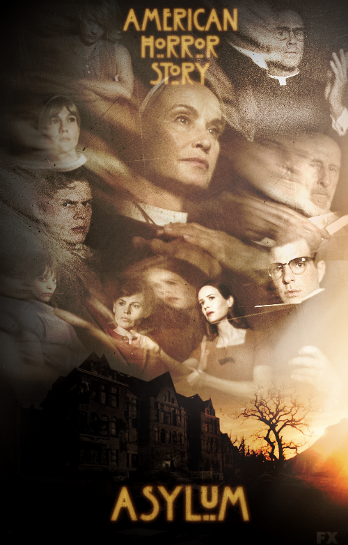 American Horror Story - Asylum (Poster) by Panchecco on ...