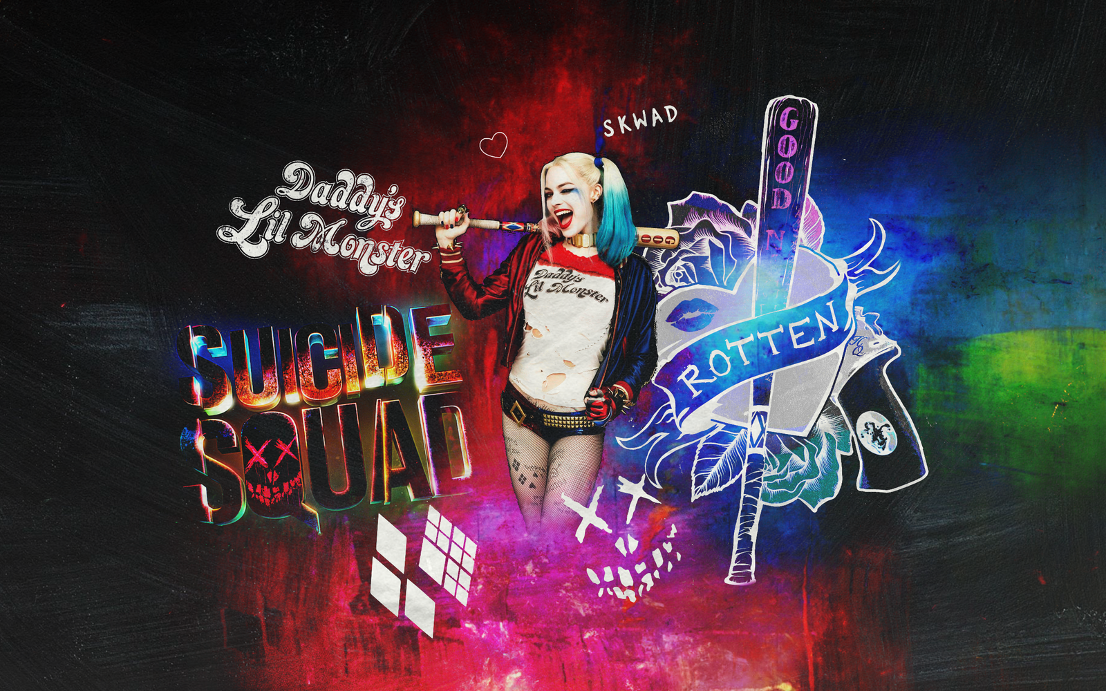 Harley Quinn Wallpaper Suicide Squad: Harley Quinn Suicide Squad Wallpaper By Panchecco On