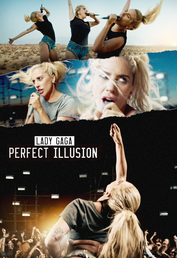 Lady Gaga | Perfect Illusion (Music Video) POSTER by Panchecco