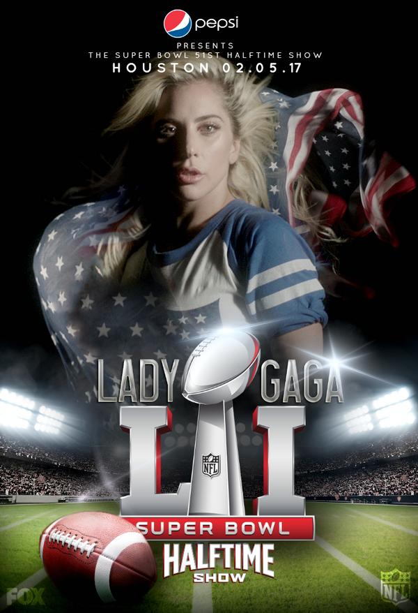 LADY GAGA / Pepsi Halftime Show (Super Bowl LI) by Panchecco