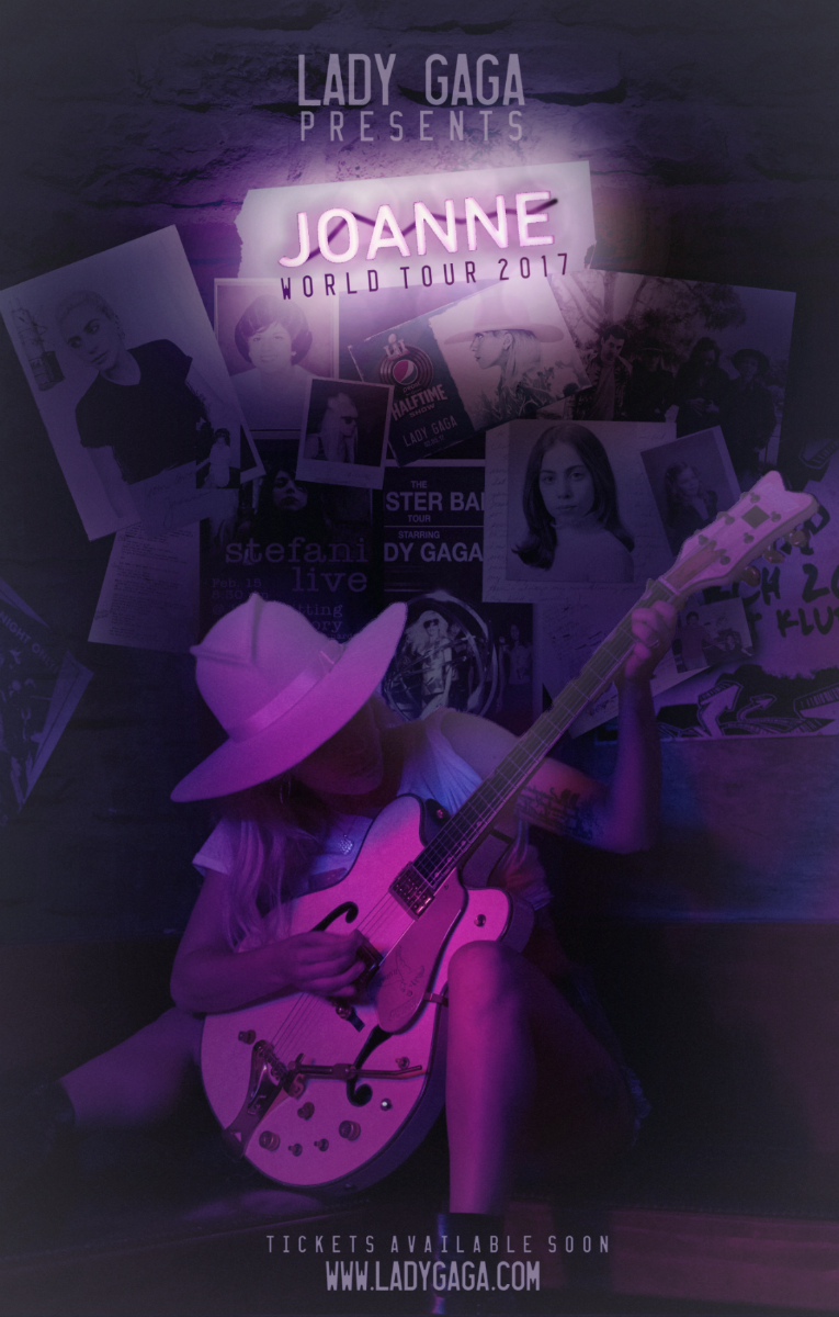 Lady Gaga presents   JOANNE World Tour (Fan Made) by Panchecco