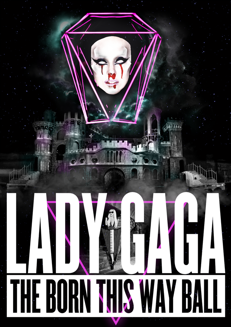 Born This Way Ball Tour - Alternative Poster by Panchecco