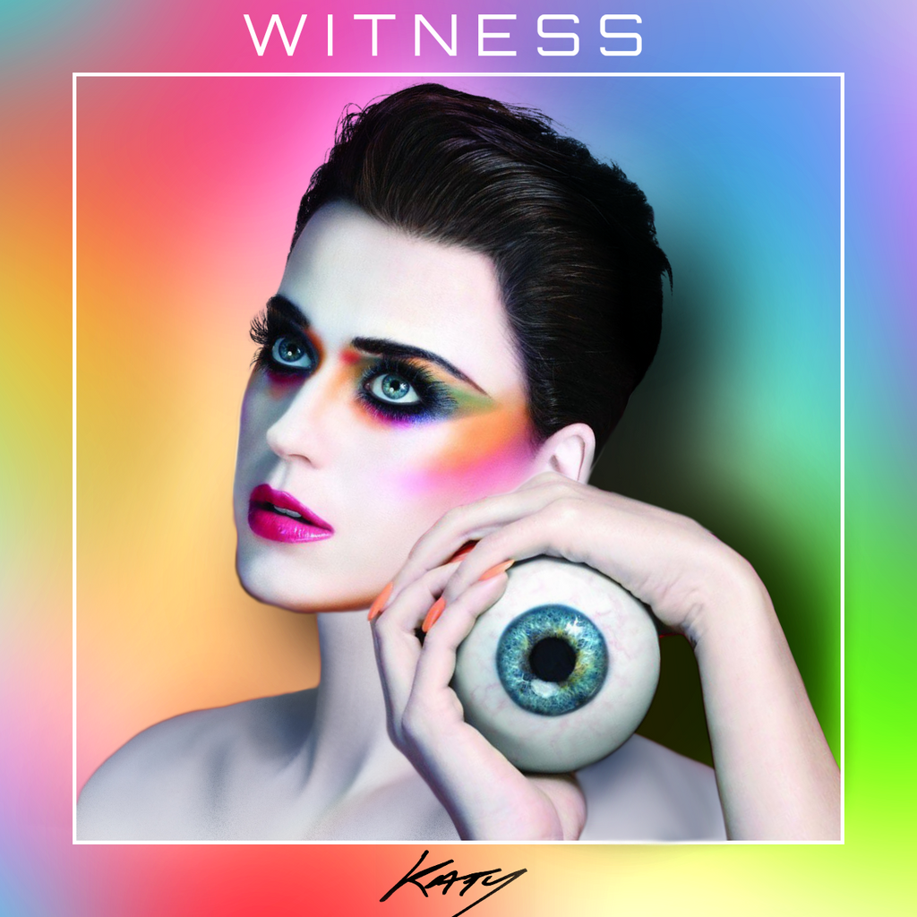 Katy Perry - Witness (Album Cover #3 by Panchecco) by ...