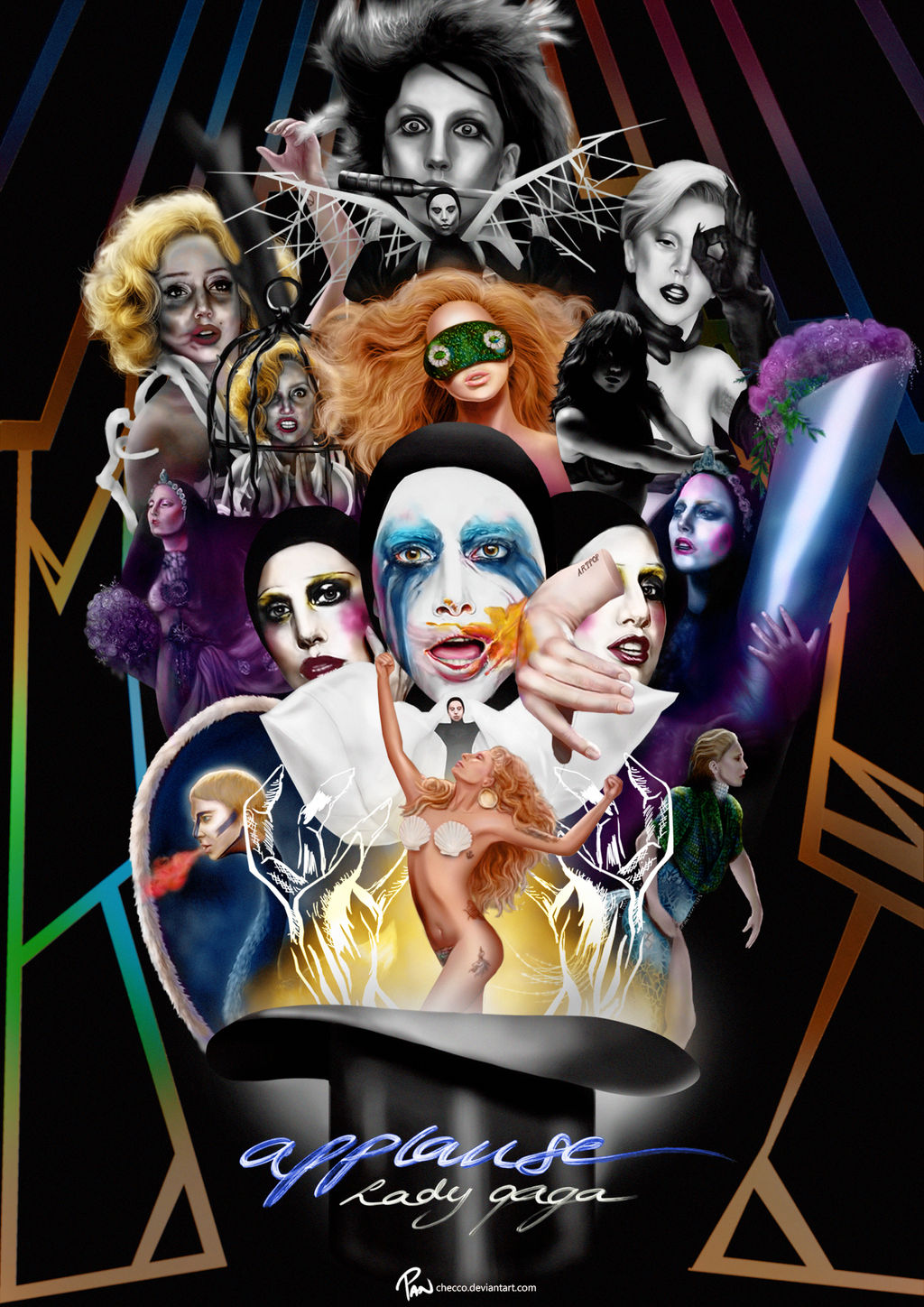 lady_gaga___applause_music_video__poster