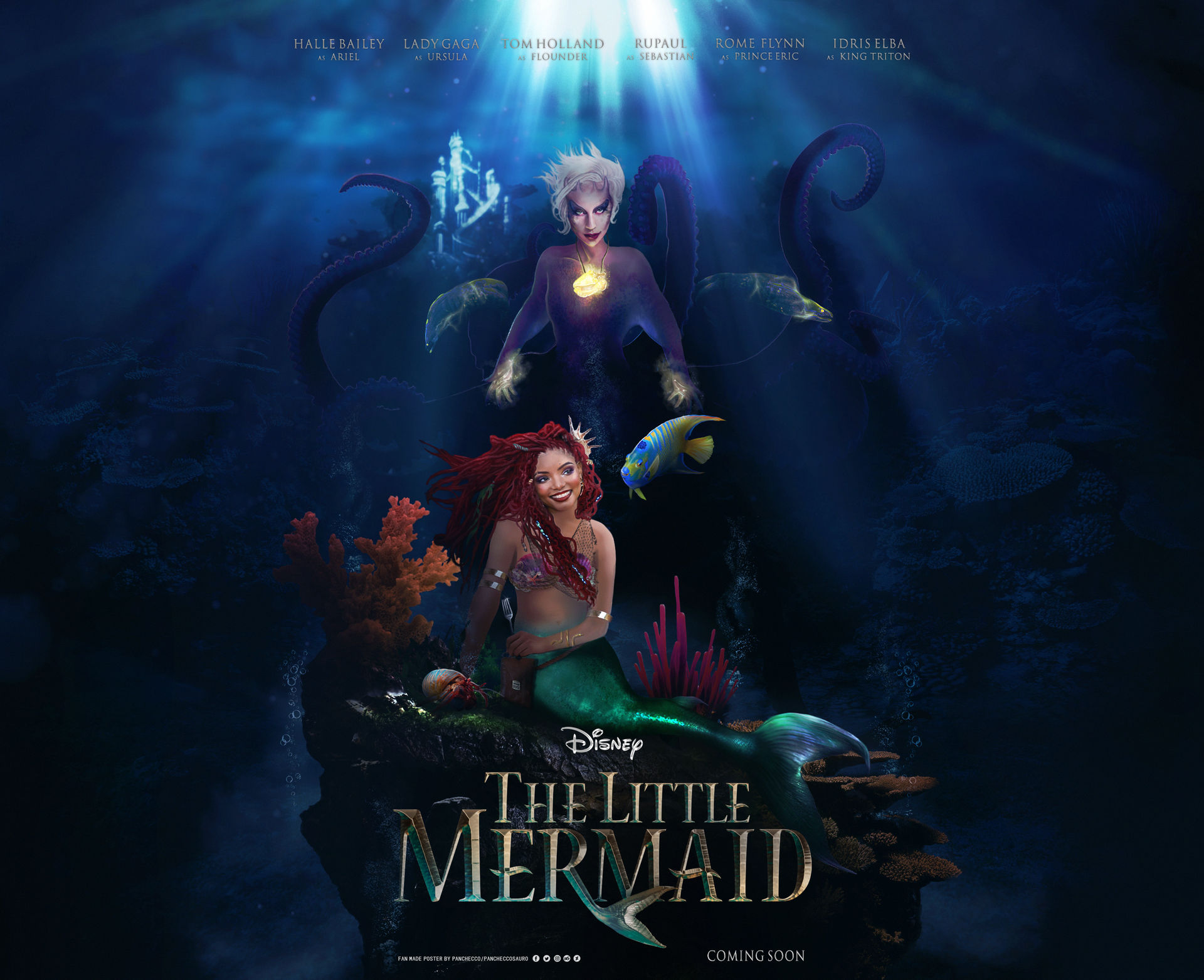 The Little Mermaid Wallpaper Version Download By Panchecco On