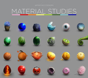 Material Studies by Pancheccosauro (FREE DOWNLOAD)