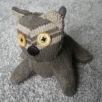 grey kitten plush