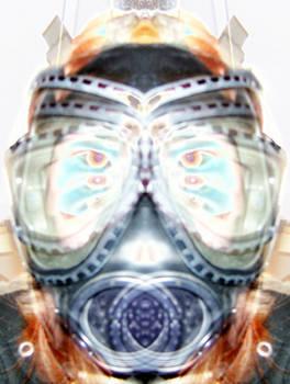 Mask metallic bright